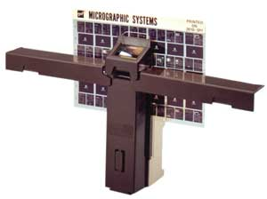 Eye Com Held-held microfiche viewer